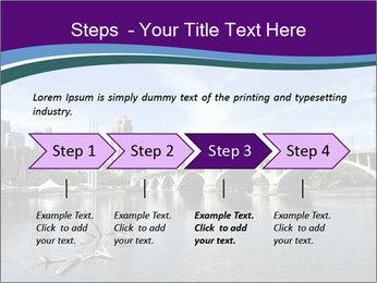 Downtown Minneapolis PowerPoint Template - Slide 4