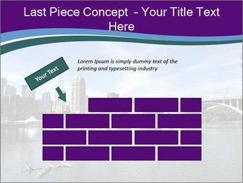 Downtown Minneapolis PowerPoint Template - Slide 46