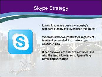 Downtown Minneapolis PowerPoint Template - Slide 8