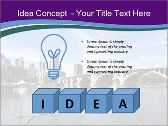Downtown Minneapolis PowerPoint Template - Slide 80