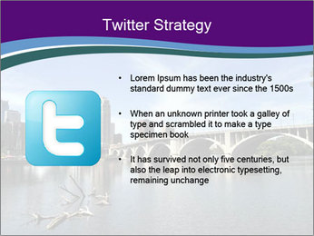 Downtown Minneapolis PowerPoint Template - Slide 9