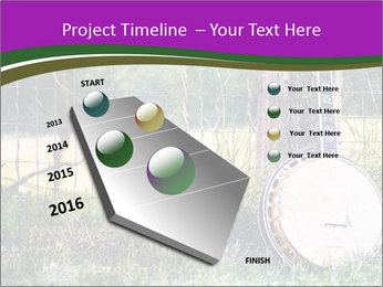 Banjo in a field PowerPoint Template - Slide 26