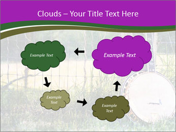 Banjo in a field PowerPoint Template - Slide 72