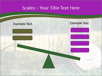 Banjo in a field PowerPoint Template - Slide 89