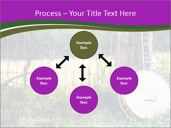 Banjo in a field PowerPoint Template - Slide 91
