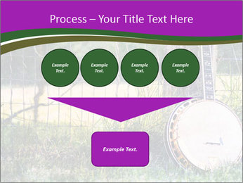 Banjo in a field PowerPoint Template - Slide 93