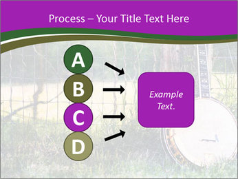 Banjo in a field PowerPoint Template - Slide 94