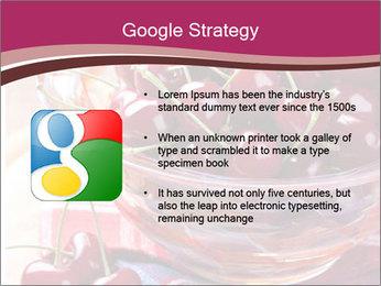 Fresh cherries PowerPoint Template - Slide 10