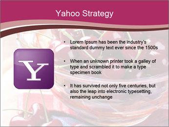 Fresh cherries PowerPoint Template - Slide 11