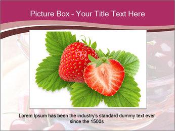 Fresh cherries PowerPoint Template - Slide 15