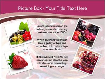 Fresh cherries PowerPoint Template - Slide 24