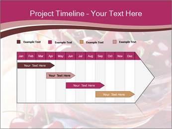 Fresh cherries PowerPoint Template - Slide 25
