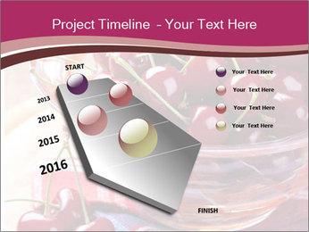 Fresh cherries PowerPoint Template - Slide 26