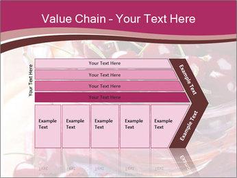Fresh cherries PowerPoint Template - Slide 27
