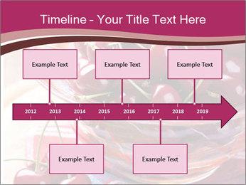 Fresh cherries PowerPoint Template - Slide 28