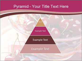 Fresh cherries PowerPoint Template - Slide 30