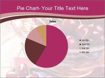 Fresh cherries PowerPoint Template - Slide 36