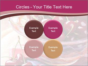 Fresh cherries PowerPoint Template - Slide 38