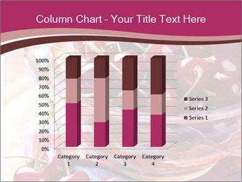 Fresh cherries PowerPoint Template - Slide 50