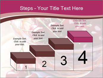 Fresh cherries PowerPoint Template - Slide 64