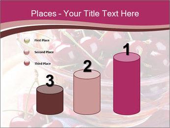 Fresh cherries PowerPoint Template - Slide 65