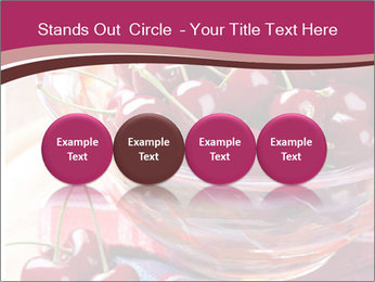 Fresh cherries PowerPoint Template - Slide 76