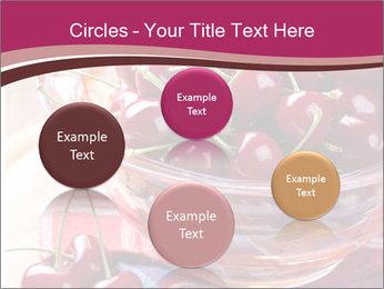 Fresh cherries PowerPoint Template - Slide 77