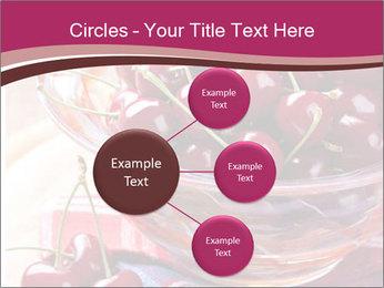 Fresh cherries PowerPoint Template - Slide 79