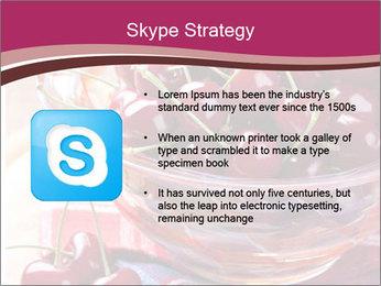Fresh cherries PowerPoint Template - Slide 8