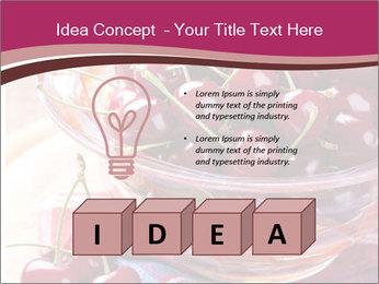 Fresh cherries PowerPoint Template - Slide 80