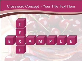 Fresh cherries PowerPoint Template - Slide 82