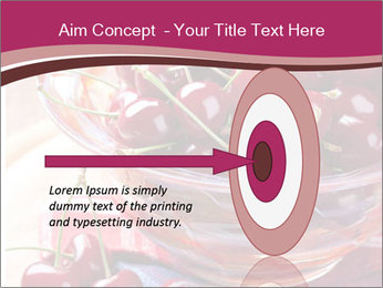Fresh cherries PowerPoint Template - Slide 83
