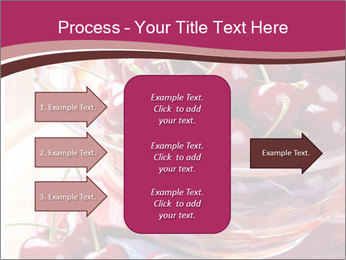 Fresh cherries PowerPoint Template - Slide 85