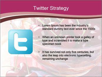 Fresh cherries PowerPoint Template - Slide 9