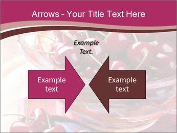 Fresh cherries PowerPoint Template - Slide 90