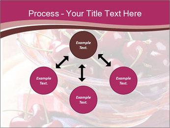 Fresh cherries PowerPoint Template - Slide 91