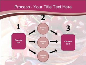 Fresh cherries PowerPoint Template - Slide 92