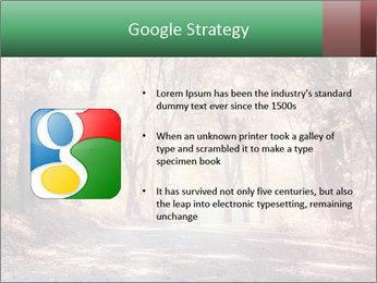 Autumn trees PowerPoint Template - Slide 10