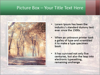 Autumn trees PowerPoint Template - Slide 13