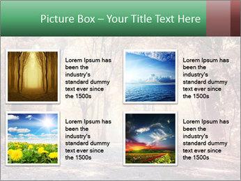Autumn trees PowerPoint Template - Slide 14