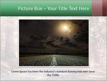Autumn trees PowerPoint Template - Slide 15