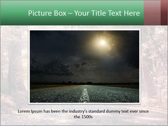 Autumn trees PowerPoint Template - Slide 16