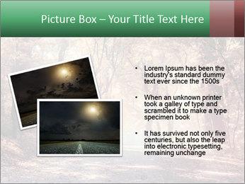Autumn trees PowerPoint Template - Slide 20