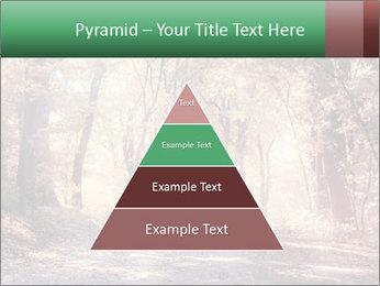 Autumn trees PowerPoint Template - Slide 30