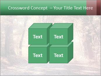Autumn trees PowerPoint Template - Slide 39