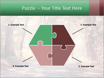 Autumn trees PowerPoint Template - Slide 40