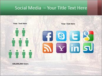 Autumn trees PowerPoint Template - Slide 5