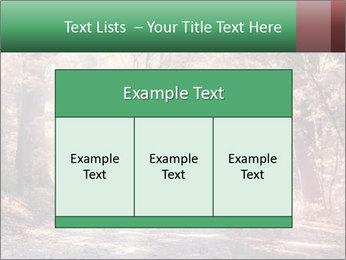 Autumn trees PowerPoint Template - Slide 59