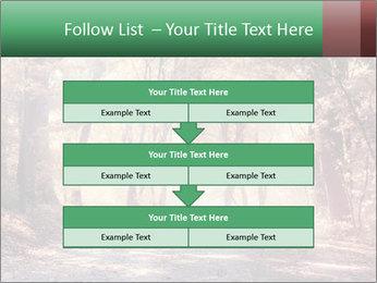 Autumn trees PowerPoint Template - Slide 60