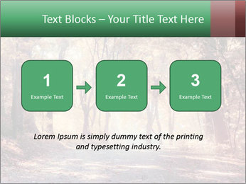 Autumn trees PowerPoint Template - Slide 71